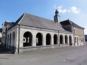 Auvillers-les-Forges - The covered market