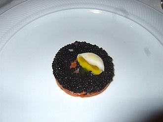 Herring as food - Image: Avruga caviar