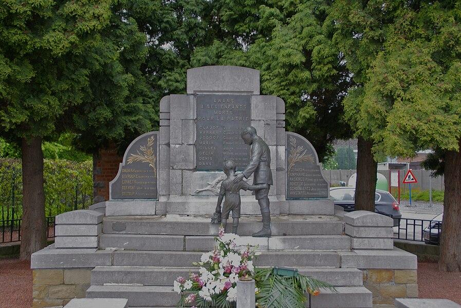 Awans (Belgium): War Memorial