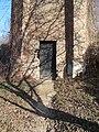 Az egykori Aszódi Magyar Királyi Javító Intézet, víztorony, ajtó, 2019 Aszód.jpg
