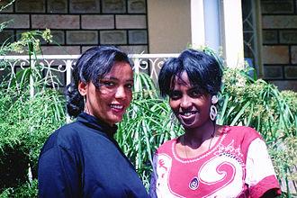 Culture of Ethiopia - Habesha women in urban wear