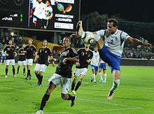 Azerbaijan vs Germany football match.jpg