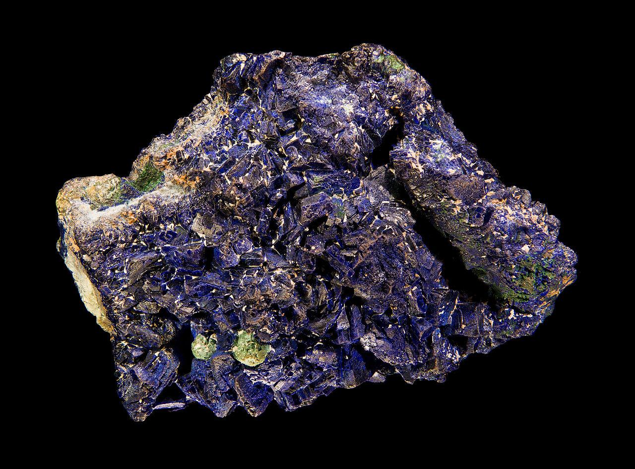 Minéraux et pierres précieuses - Page 24 1280px-Azuritechessy
