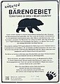 Bärengebiet - Bear country - Territorio di Orsi, Gailtal, Kärnten.jpg