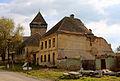 Bărcuț - biserica fortificată (vedere dinspre nordest).jpg