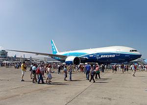 777-200LR Worldliner at the Paris Air Show 2005