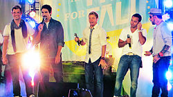 Die Backstreet Boys live, 2012