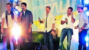 Backstreet Boys - Image: BSB Old Navy Performance