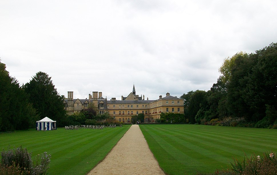 Back Lawns, Trinity College, Oxford