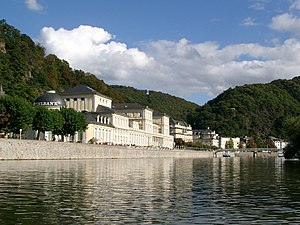 Bad Ems - Bad Ems from the River Lahn