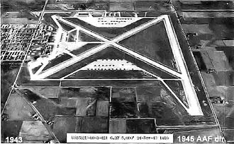 Fort Wayne Air National Guard Station - Baer Army Air Base, November 1943