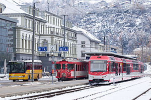 Matterhorn Gotthard Bahn - Image: Bahnhof Brig IMG 9427