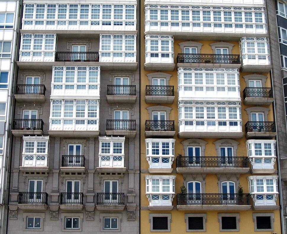 Balcóns da Coruña