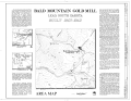 Bald Mountain Gold Mill, Nevada Gulch at head of False Bottom Creek, Lead, Lawrence County, SD HAER SD,41-LEAD.V,1- (sheet 1 of 13).png