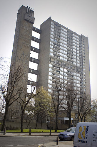 Balfron Tower - Balfron Tower, a prominent example of Brutalist housing