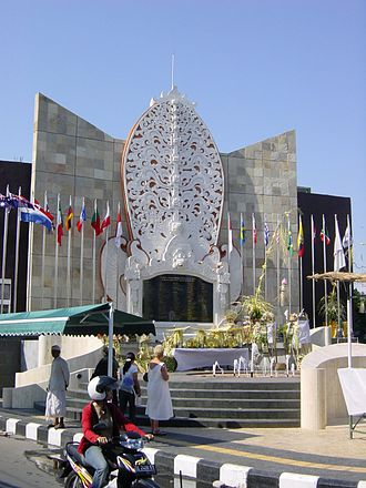 Kuta - The Bali bombing memorial
