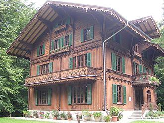 Brienzwiler - A house in the Ballenberg Open Air Museum
