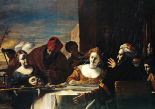 Salomé with the Head of St. John before Herod