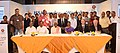 Bandaru Dattatreya in a group photograph at the closing ceremony of the ISSA Academy Workshop-Contribution, Collection and Compliance in collaboration with ESIC, in New Delhi.jpg