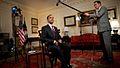 Barack Obama delivers weekly address 2009-07-17.JPG