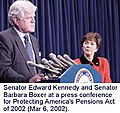 Barbara Boxer and Ted Tennedy 20020306 401k.jpg