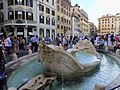 Barcaccia Fountain 石舟噴泉 - panoramio.jpg