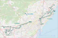 Barcelona - tramway map.png