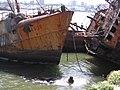 Barcos abandonados en el puerto de Mar del Plata.jpg