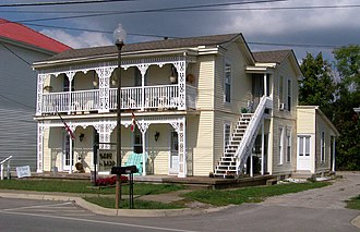 National Register of Historic Places listings in Bullitt County, Kentucky - Image: Barnes perspective