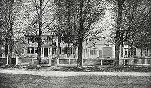 New Ipswich, New Hampshire - Barr Mansion in 1900