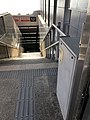 Barrier-free facilities at Exit E of Beijing Subway Chongwenmen Station.jpg