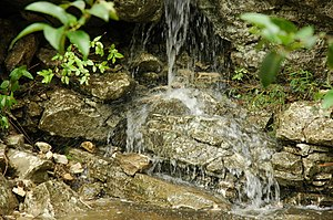 Barton Creek - Image: Barton Creek TX waterfall 1