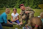 Basic medical training provided for Latvian survival campers 150717-A-ZZ359-068.jpg