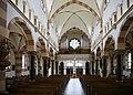 Basilika St. Germanus - Wesseling, Kirchenschiff nach Westen mit Orgelempore.jpg