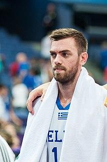 Vangelis Mantzaris Greek professional basketball player