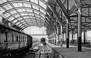 Bath Green Park railway station - Bath Green Park railway station in 1962