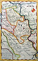 Battle of Krefeld - Map of the area printed in The Gentleman's Magazine.jpg
