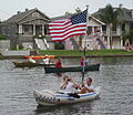 Bayou St John 4th of July Flag and Camera.JPG