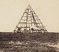Beacon erected on Mellish Cay by H.M.S Herald 1859.jpg