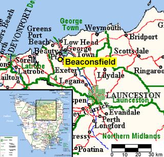 Beaconsfield Mine collapse 2006 mining accident in Tasmania, Australia