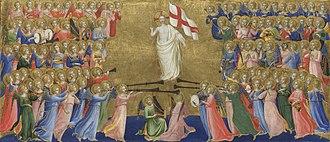 Fiesole Altarpiece - Image: Beato angelico, predella della pala di fiesole 01
