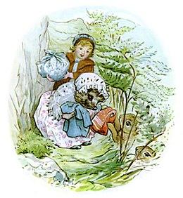 Beatrix Potter, Mrs Tiggy-Winkle, Peter Rabbit