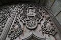Beautiful carved wood door of San Agustin Museum (17266877886).jpg