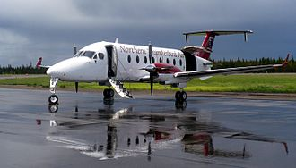 Williams Lake, British Columbia - Beechcraft 1900 of Northern Thunderbird Air at Williams Lake Airport