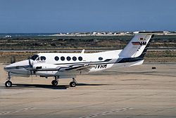 Beechcraft B200 Super King Air, VHM Schul und Charterflug JP5844827