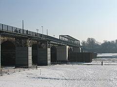 Behelfsbrücke Albertbrücke Feb 2012.JPG