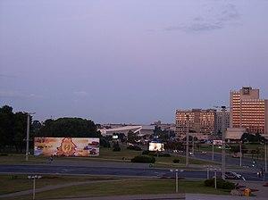 Victors Avenue - Image: Belarus Minsk Masherov Avenue 2