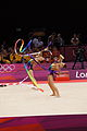 Belarus Rhythmic gymnastics team 2012 Summer Olympics 15.jpg