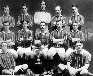 Belgrano Athletic Club - The football squad that won the 1908 Primera División title.