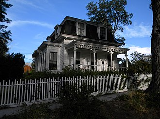 National Register of Historic Places listings in Carson City, Nevada - Image: Belknap House
